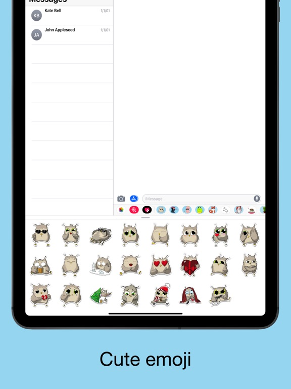 Owl emoji - Funny stickers screenshot 7