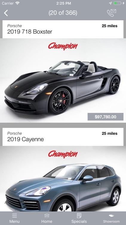 Champion Porsche MLink