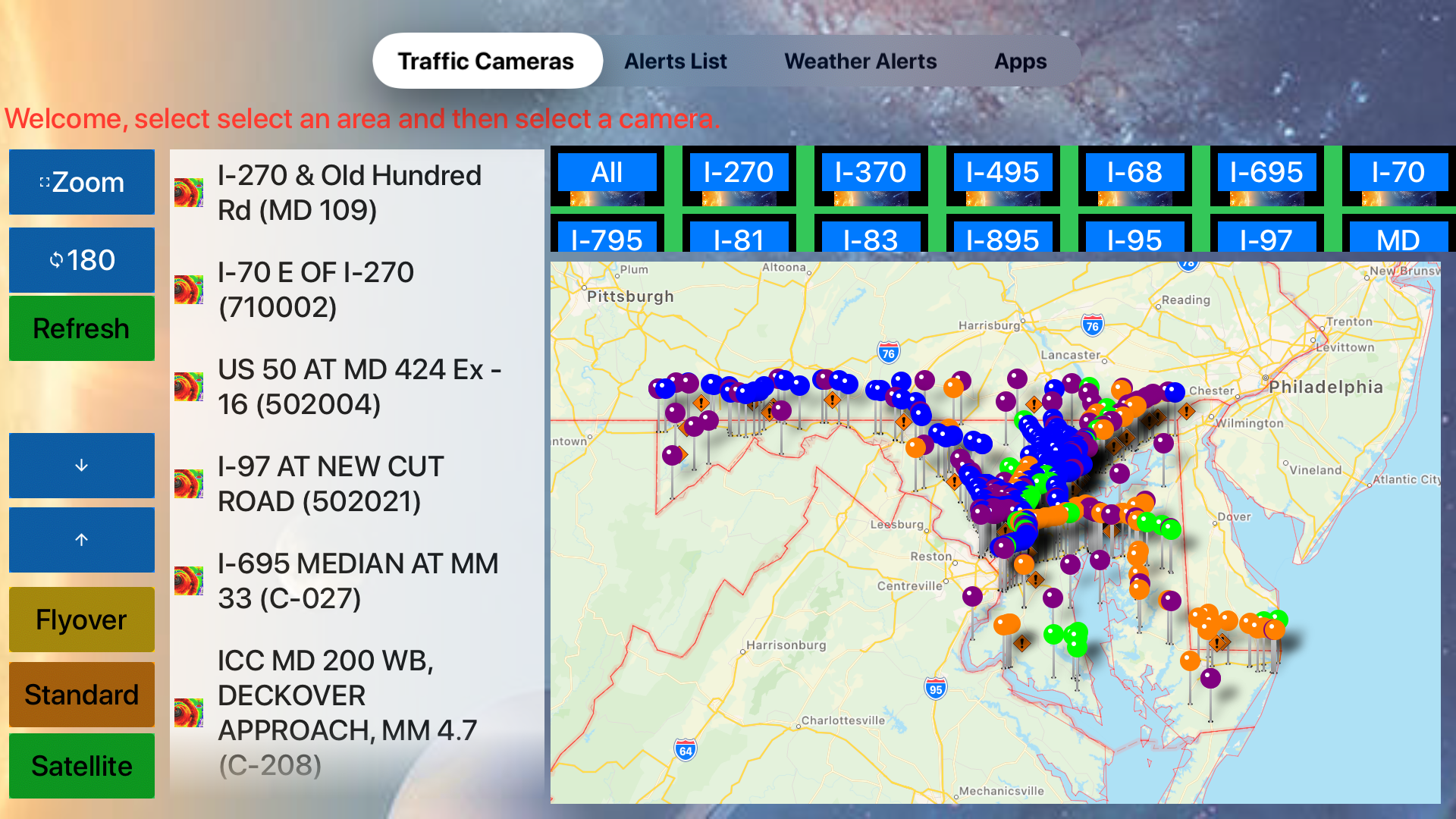 Traffic Cameras Maryland Pro screenshot 13