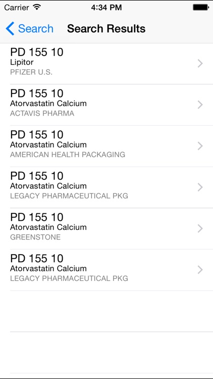 Pill ID Pro by Drugs.com screenshot-2