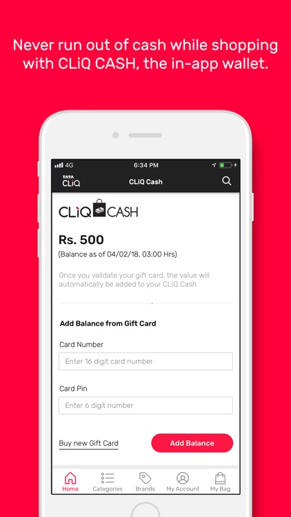 Tata CLiQ -Online Shopping App screenshot-4