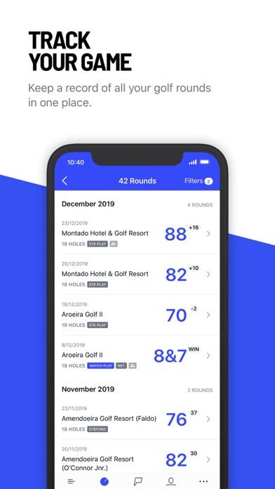 Hole19 Golf GPS & Scorecard Screenshot