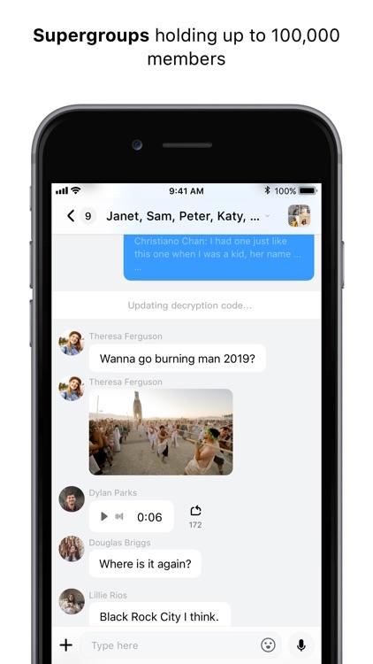 BCM - Blockchain Messenger screenshot-5