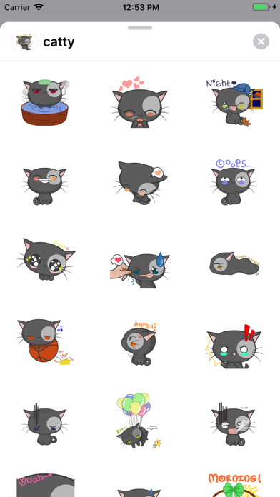Catty  - Cute Cat Stickers screenshot 1