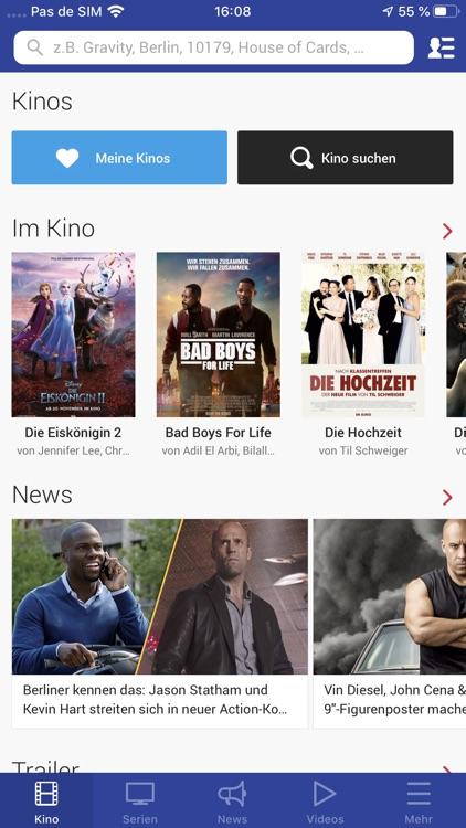 Filmstarts: Kino, Serien, News