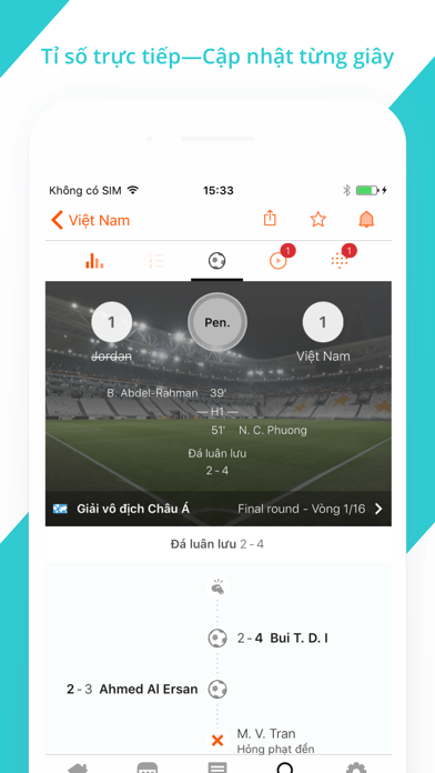 Screenshot for Forza Football in Viet Nam App Store