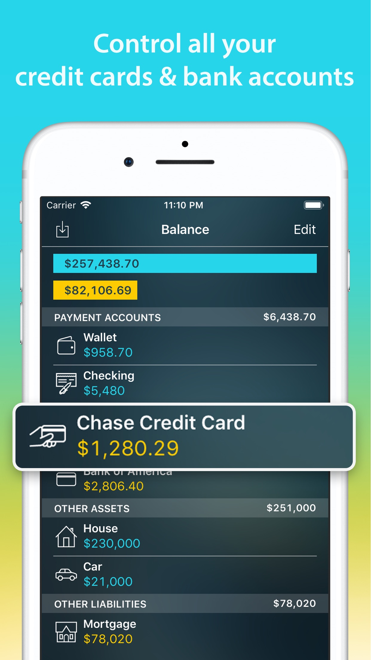 Money Pro: Personal Finance Screenshot