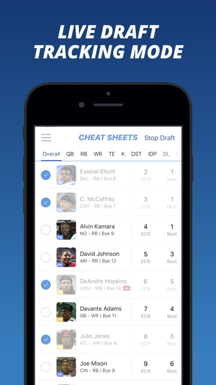 Fantasy Football Cheat Sheets screenshot-4