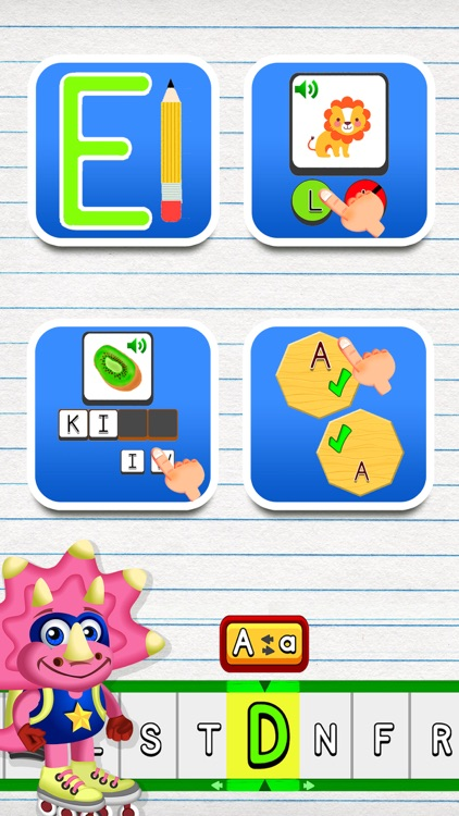 ABC Dinos: Kids read and write screenshot-4