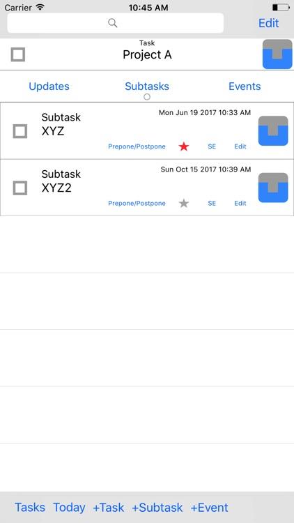 Task Update screenshot-3