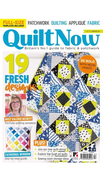 Quilt Now Magazine screenshot-5