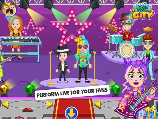 My City : Popstar screenshot 7