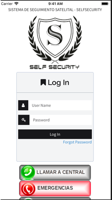 SelfSecurityRTCaptura de pantalla de1
