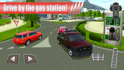 Screenshot from Gas Station: Car Parking Sim
