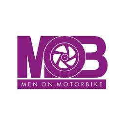 Men on Motorbike : taxi moto