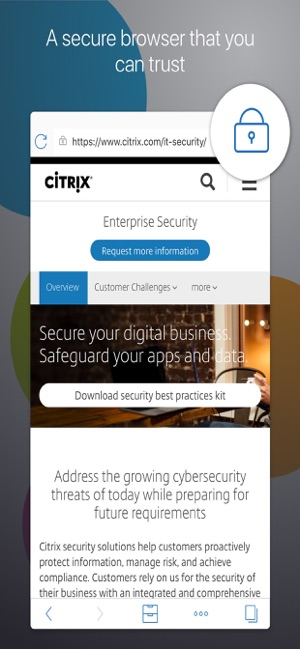 Citrix Secure Web on the App Store