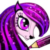 PONY Colouring Pages for Girls