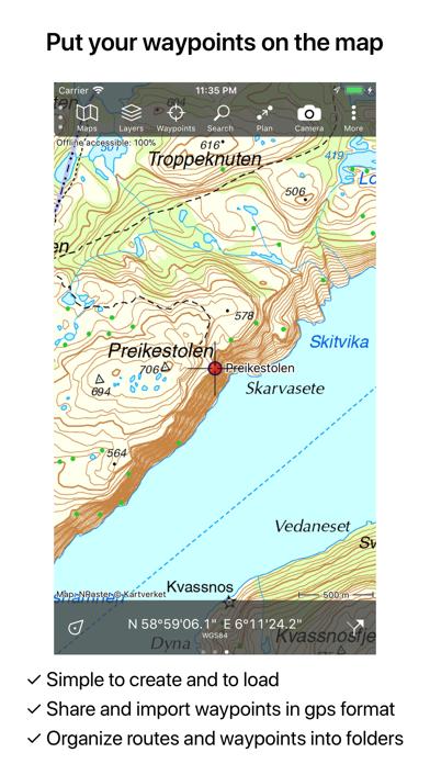 Screenshot for Topo GPS Norway in Sweden App Store