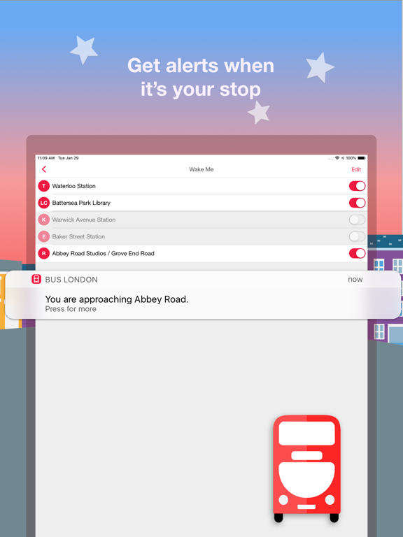 Bus London - Live TfL times and route planner screenshot