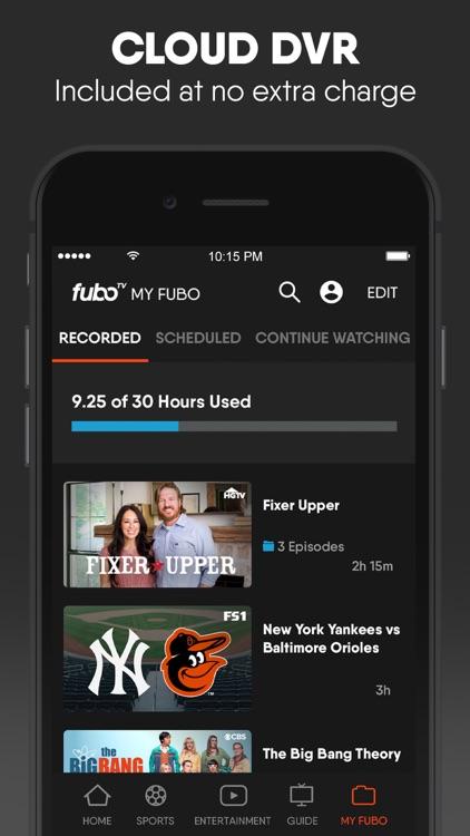 fuboTV: Watch Live Sports & TV screenshot-4