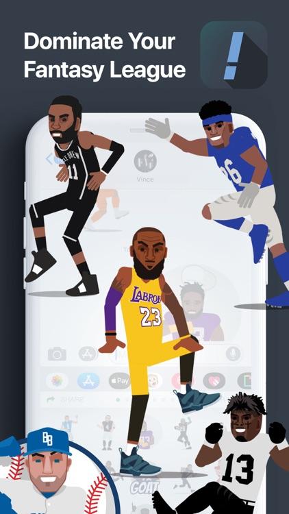 SportsManias: Emojis & Fantasy screenshot-5