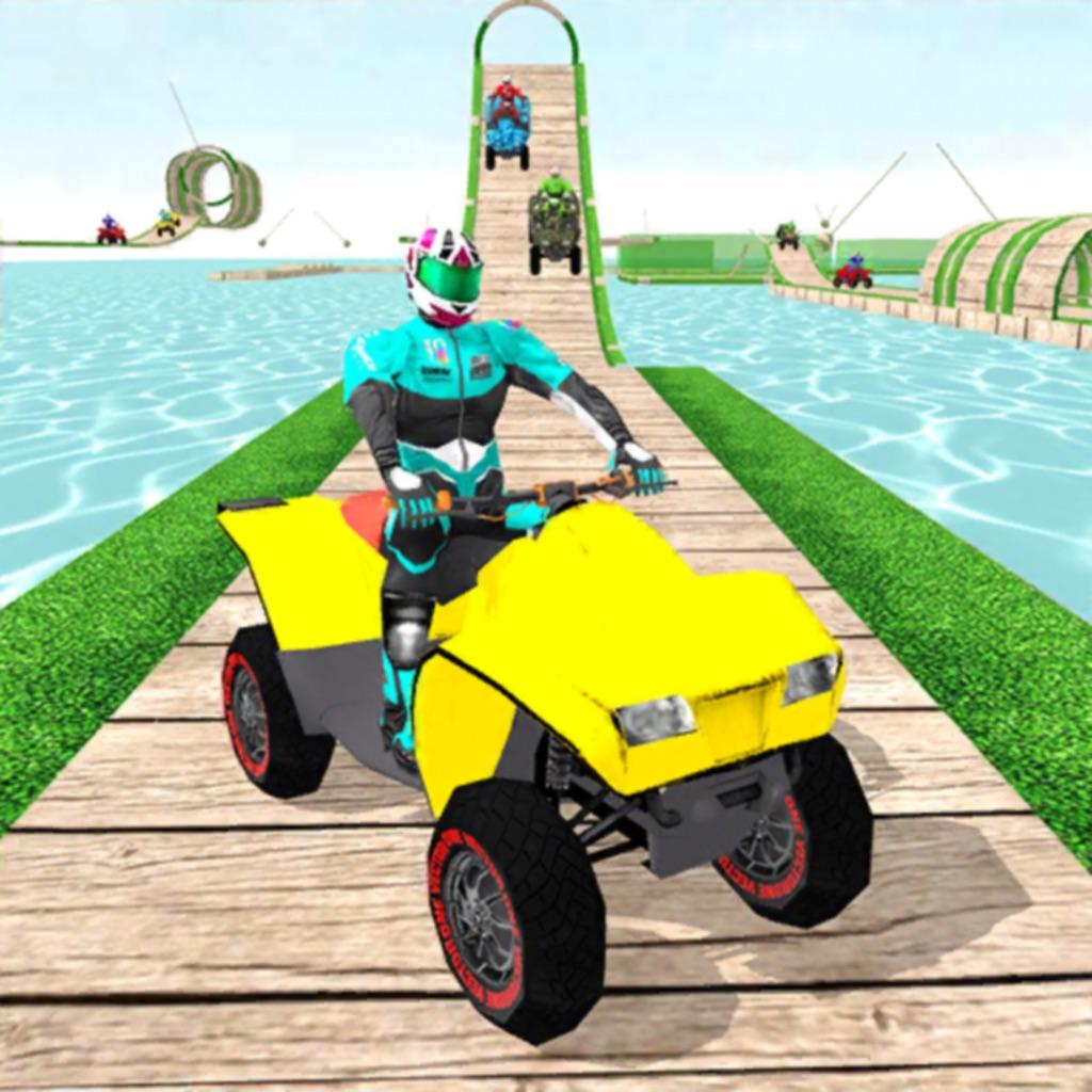 ATV Quad Bike Stunt Racing 3D hack