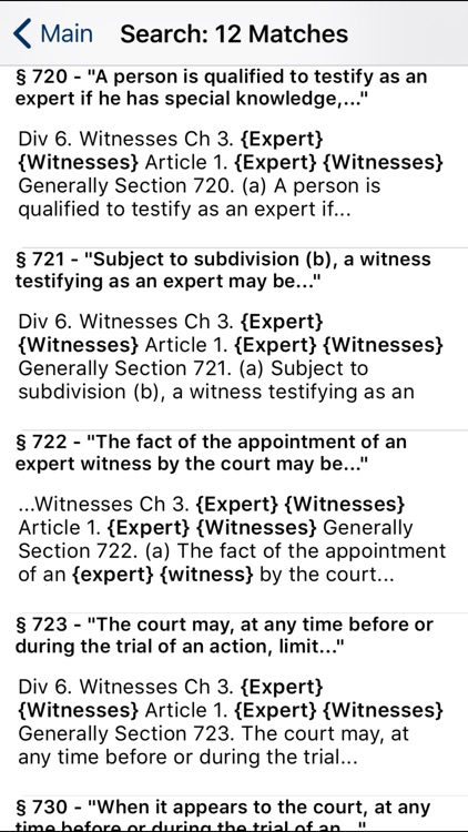 CA Evidence Code 2020