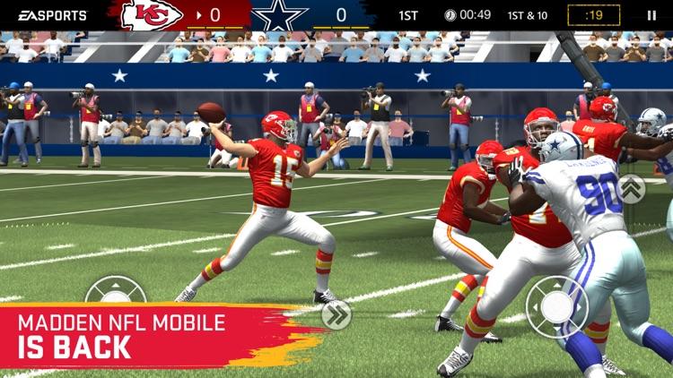 MADDEN NFL MOBILE FOOTBALL screenshot-4