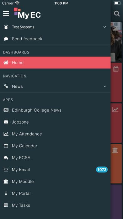 MyEC screenshot 2
