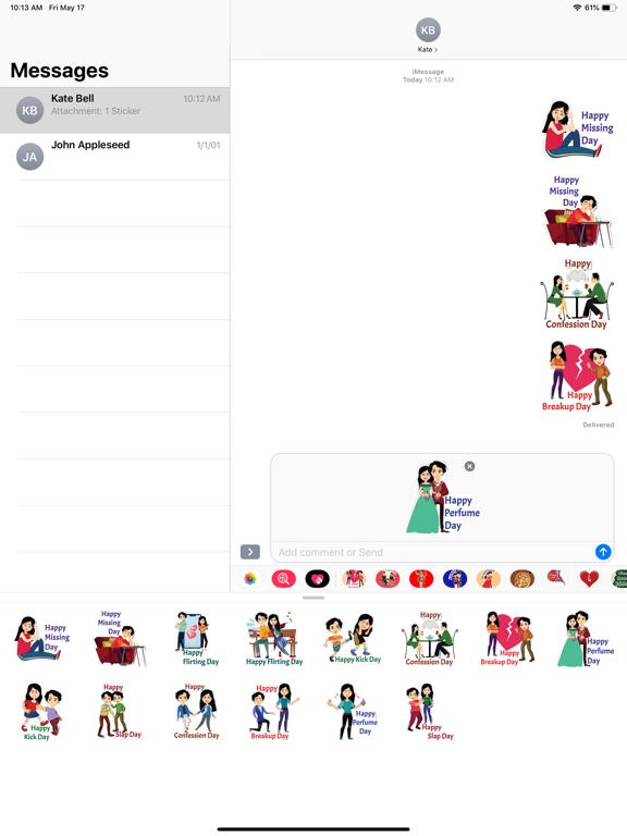 Post Valentine Special Sticker screenshot 6