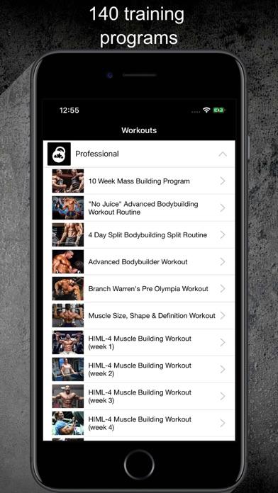 Gym Guide Pro workoutsのおすすめ画像1
