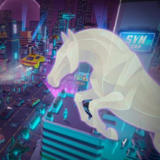 Cyberpunk Horse Race-Fun Dash