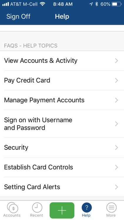 GNB Bank credit card app screenshot-3