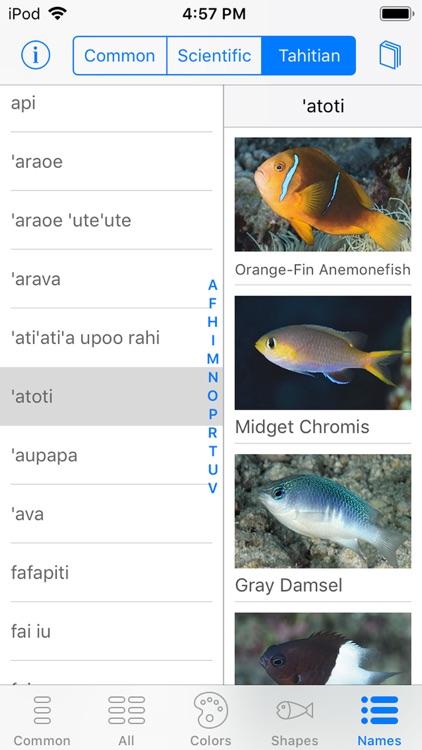 Tetiaroa Fish Guide screenshot-6