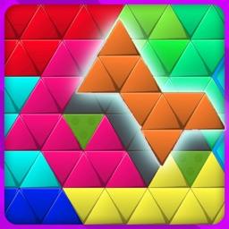 Hexa Square Triangle Puzzle