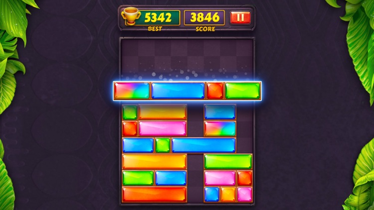 Dropdom™ Puzzle Block Jewel screenshot-5