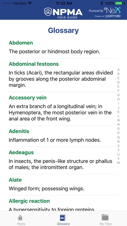 NPMA Mobile Field Guide screenshot-4