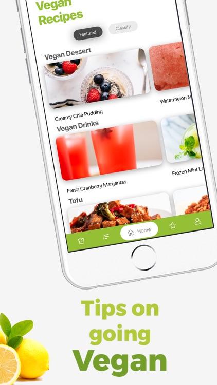 Vegan Meal Plan - Food Planner screenshot-3