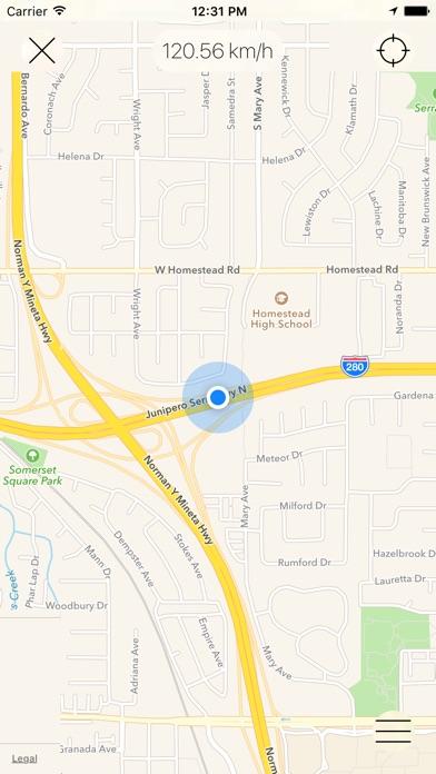 Screenshot for Speedometer [GPS] in Azerbaijan App Store