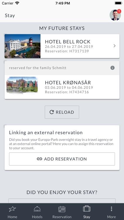 Europa-Park Hotels screenshot-5