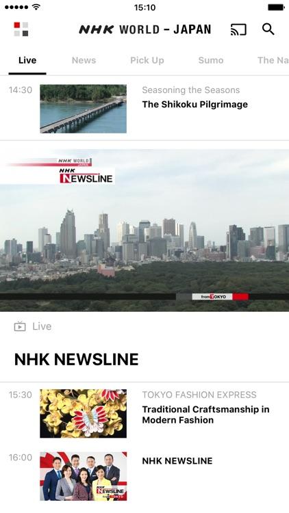 NHK WORLD TV by NHK (Japan Broadcasting Corporation)