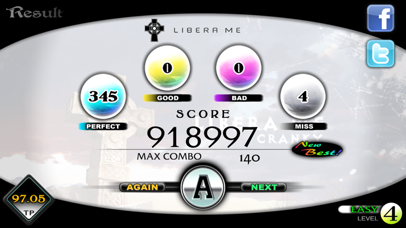 Screenshot for Cytus in Brazil App Store