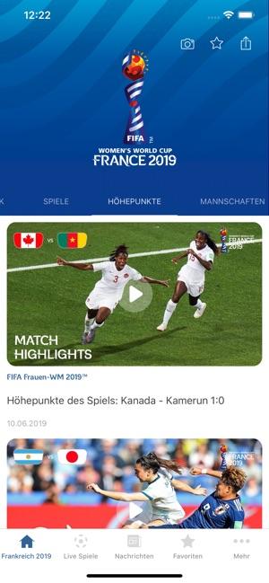 FIFA Frauen-Weltmeisterschaft™ Screenshot
