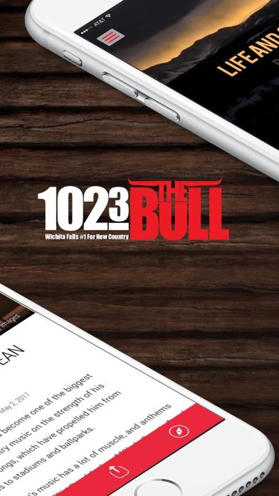 102.3 The Bull (KWFS-FM) screenshot two