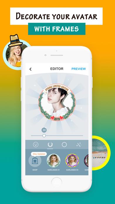 Mega Stickers for Social Posts Screenshot