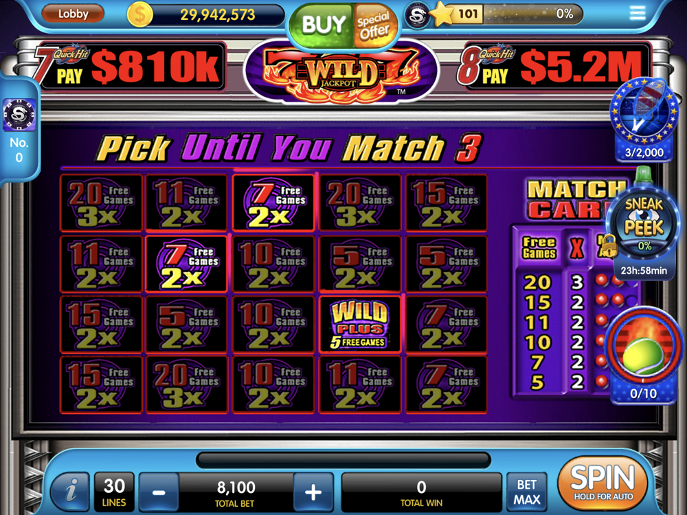 Quick Hits Slots For Ipad
