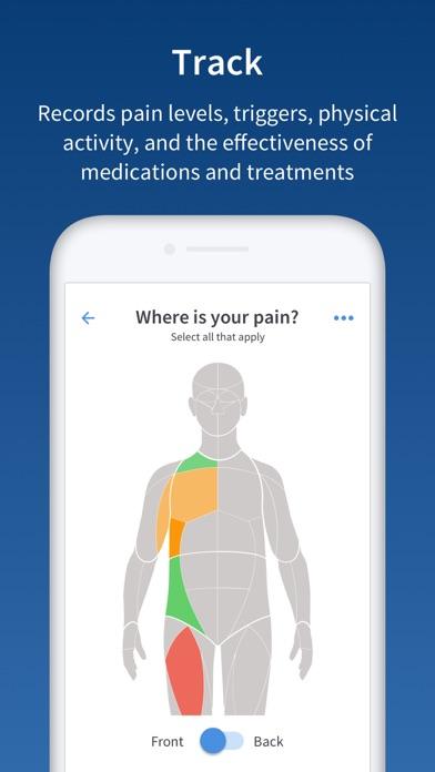 PainScale - Pain Tracker DiaryScreenshot of 1