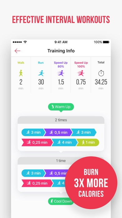 Weight Loss Running by Verv app image