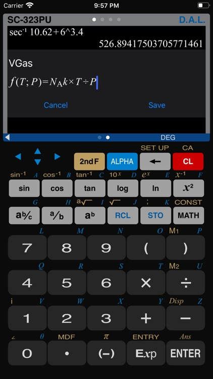 Scientific Calculator SC-323PU