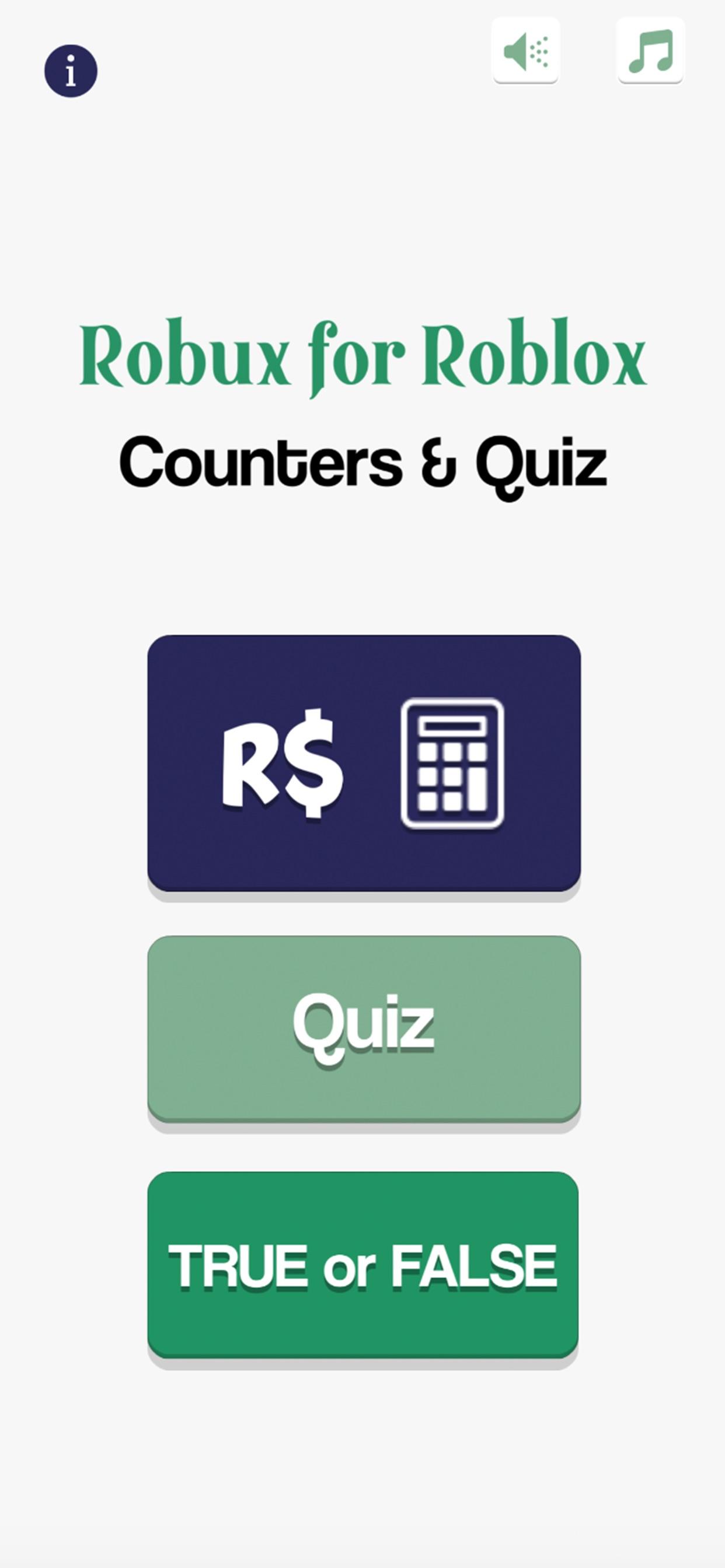 Robux Counter Roblox Quiz App Store Review Aso Revenue